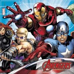 - Mighty Avengers Kağıt Peçete (33x33 cm) 20'li Paket