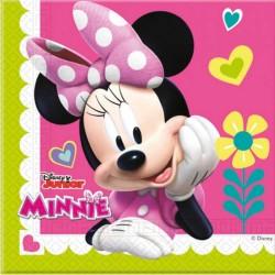 - Minnie Happy Helpers Kağıt Peçete (33x33 cm) 20'li Paket