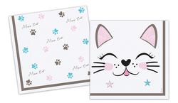 - Kağıt Peçete Mıss Cat 33x33cm Pk:16 Kl:20