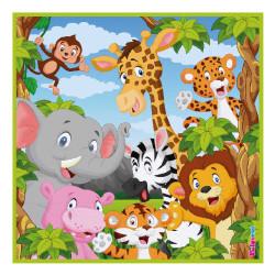 - Safari Kağıt Peçete (33x33 cm) 20'li Paket