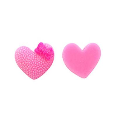 Kalp Stıcker Plastik Pembe