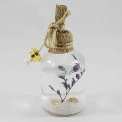 - Kandil Şişesi Çiçekli 25 Cc Beyaz