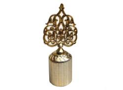 - Kapak Kubbe Osmanlı Motifli Plastik Altın