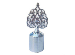 - Kapak Kubbe Osmanlı Motifli Plastik Gümüş