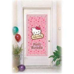- Hello Kitty Kapı Banner