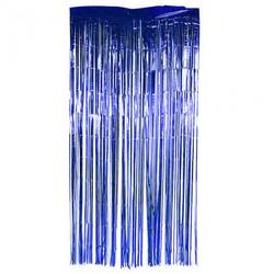 - Kapı Banner Simli 1x2 Mt Lacivert Pk:1 Kl:200