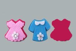 - Keçe Elbise Modeli Pembe