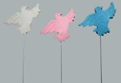 - Kuşlu Ve Telli Keçe Mavi