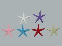 - Keçeden Deniz Yıldızı Beyaz