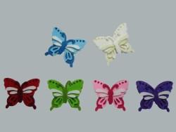 - Keçeden Kelebek Beyaz