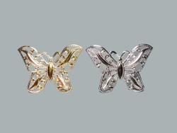 Kelebek Metal Büyük Altın - Thumbnail