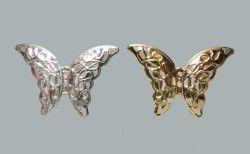 Kelebek Metal Küçük Gümüş