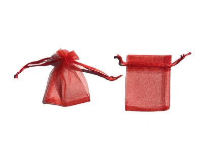 Kese Taşsız Minik Boy Kırmızı 7x9cm