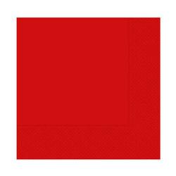 - Kırmızı Kağıt Peçete (33x33 cm) 20'li Paket