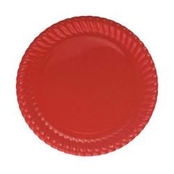 - Kırmızı Karton Tabak (23 cm) 8'li Paket
