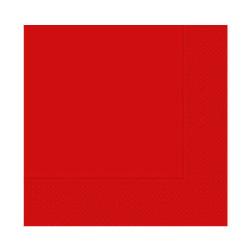 - Kırmızı Peçete (33x33 cm) 16'lı Paket