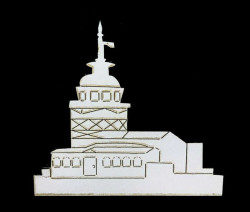 - Kız Kulesi Lazer Kesim 3mm