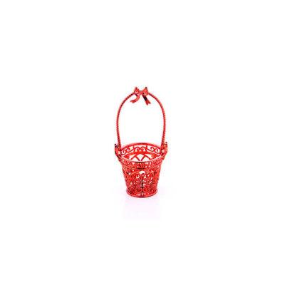 Kova Plastik Küçük Kırmızı