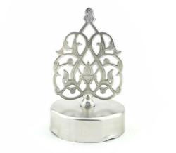 - Kubbe Bal Kavanozu Kapağı Metal Gümüş