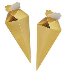 - Desensiz Karton Külah Altın