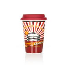 Kupa Garage Serisi Kırmızı Kapak - Thumbnail