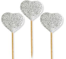 - Kürdan Evadan Simli Kalp Gümüş Pk:12 Kl:100