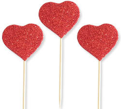 - Kürdan Evadan Simli Kalp Kırmızı Pk:12 Kl:100