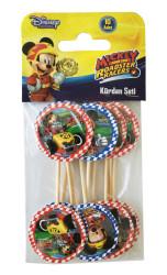 - Mickey Roadster Kürdan 10'lu Paket