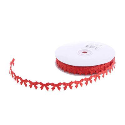 Kurdela Fiyonk Modeli 2cm Kırmızı