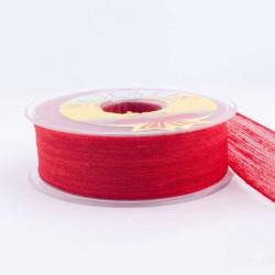- Kurdela Keten Nopeli Modeli 2,5 Cm Kırmızı