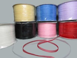 - Kurdela Organze Krem 3mm 500yard