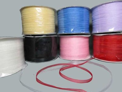 Kurdela Organze Lila 3mm 500yard