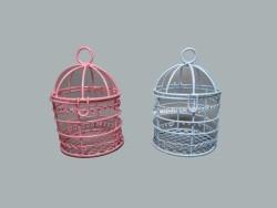 Kuş Kafesi Pembe - Thumbnail