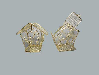 Kuş Yuvası Ev Modeli Altın