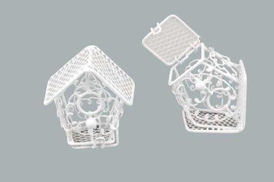 Kuş Yuvası Ev Modeli Beyaz