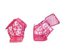 Kuş Yuvası Ev Modeli Kırmızı - Thumbnail