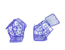 - Kuş Yuvası Ev Modeli Lila