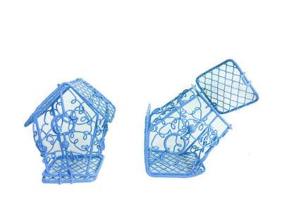 Kuş Yuvası Ev Modeli Mavi