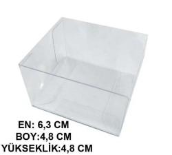 - Kutu Asetat Küp 4,8x4,8x8x6,3 Cm