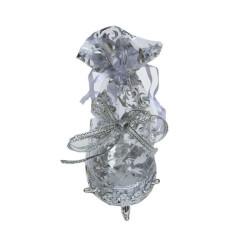 - Kutu Ayaklı Keseli Küçük Boy Gümüş