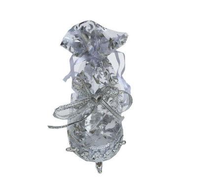 Kutu Ayaklı Keseli Küçük Boy Gümüş