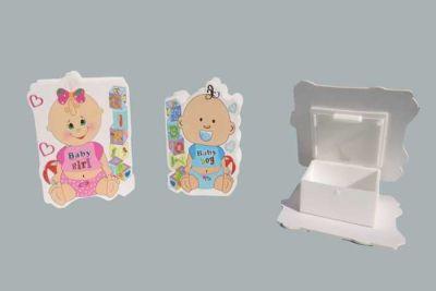 Kutu Baby Plastik Pembe