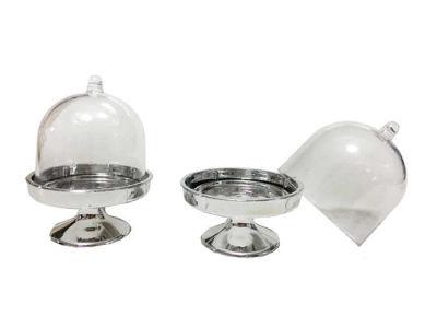 Kutu Cup Kek Modeli Gümüş