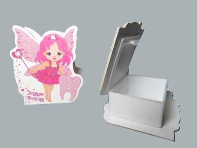 Kutu Diş Perisi Plastik Pembe