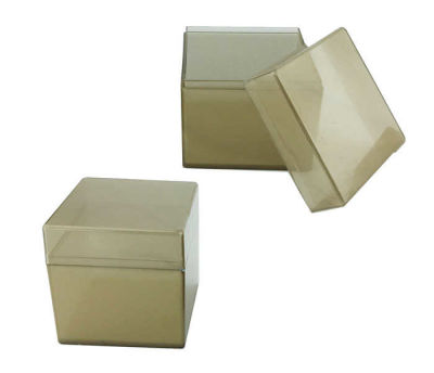 Kutu Kare Altın 5x5cm Pk:12
