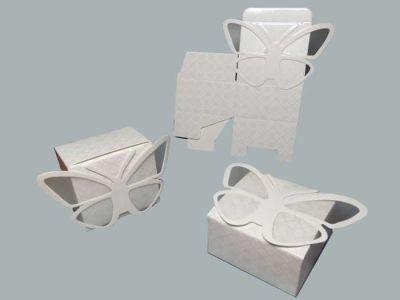Kutu Karton Kelebek Modeli