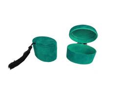 - Kutu Oval Flok Kaplama Yeşil Pk:10 Kl:400