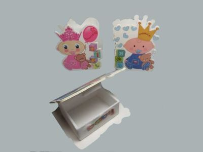 Kutu Prenses Plastik Pembe