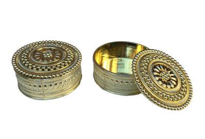 Kutu Yuvarlak Model Yeni Altın