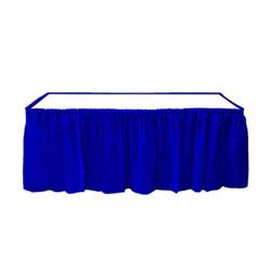 - Lacivert Plastik Masa Eteği (75x426 cm) 1'li Paket
